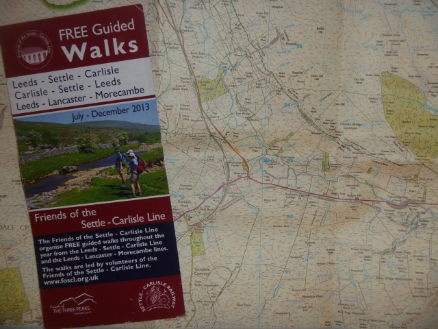 Map and leaflet