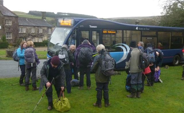 Arriving at Ramsgill