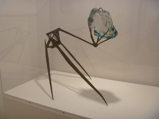 Iron sculpture