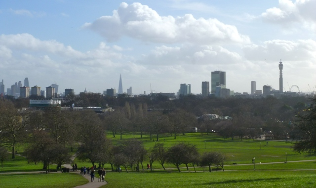 Primrose Hill view