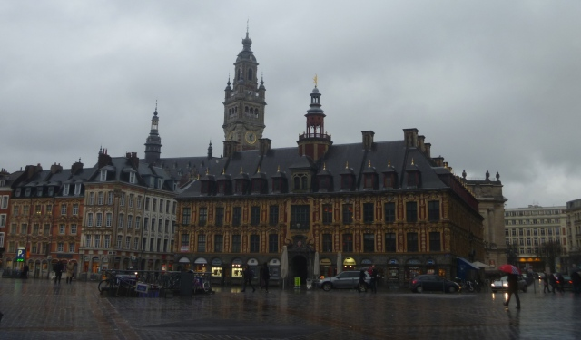 Vieille Bourse with Belfry behind