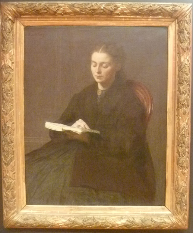Fantin-Latour The Reader