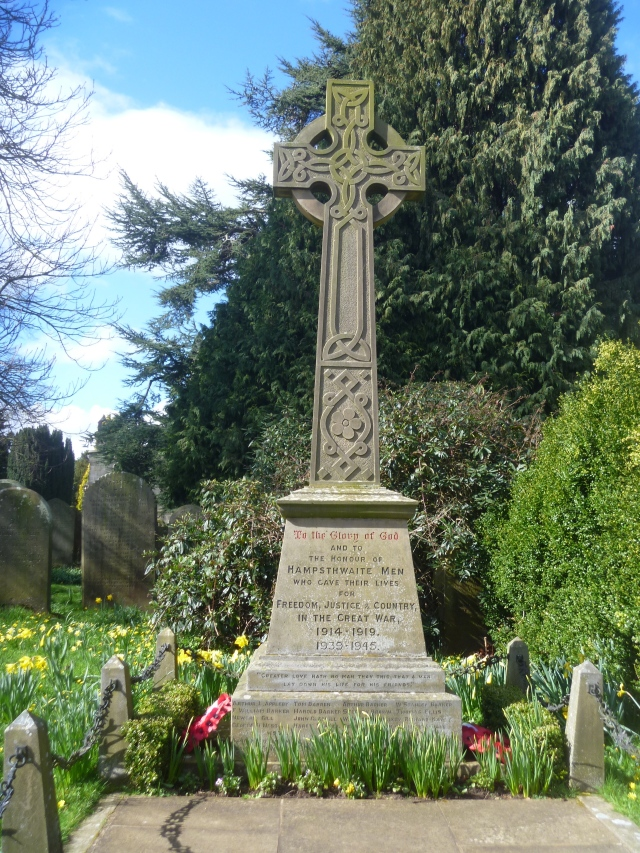 Hampsthwaite war memorial
