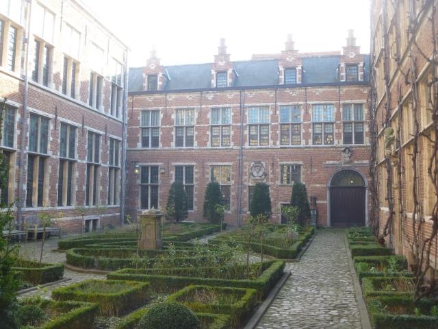 Inner courtyard