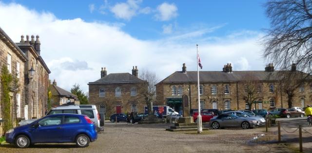 Ripley village square