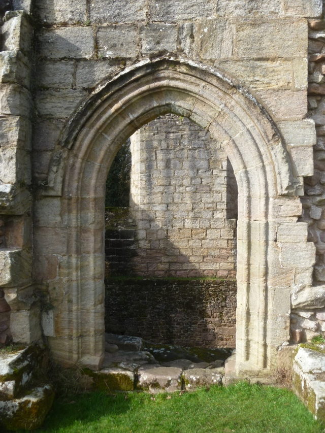 Doorway ruin Spofforth