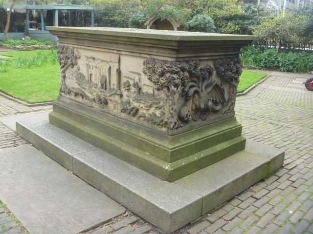 Tradescant Tomb