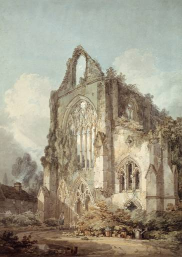 Ruins of West Front, Tintern Abbey circa 1794-5 by Joseph Mallord William Turner 1775-1851