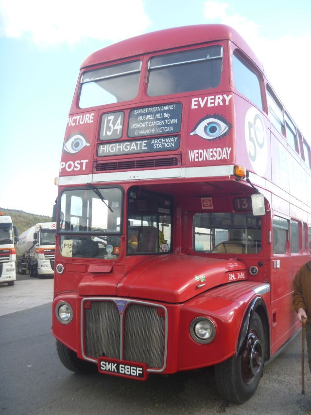 Vintage 134 Routemaster London Bus