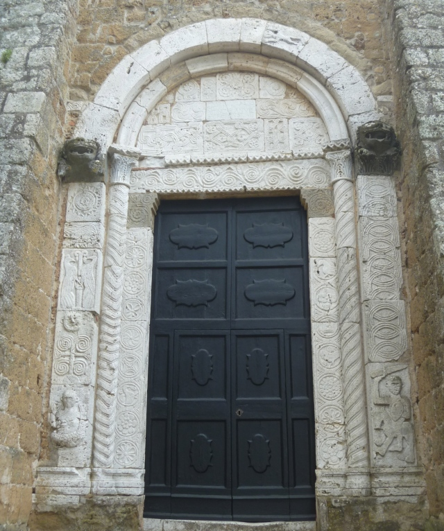 Carved Cathedral Door