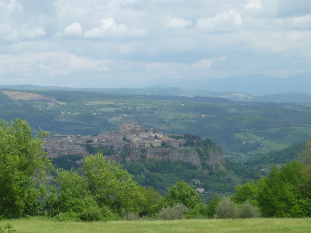 First view of Orvieto