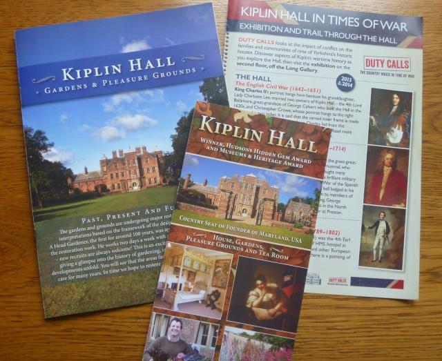 Kiplin leaflets