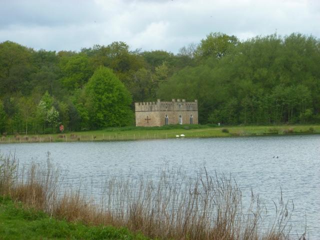Lake and folly