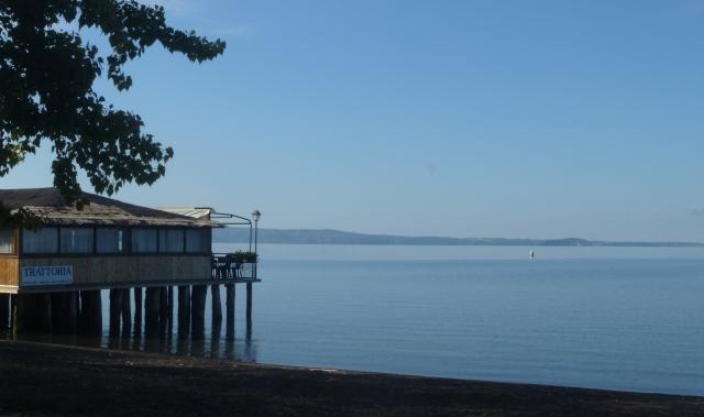Lake Bolsena last morning