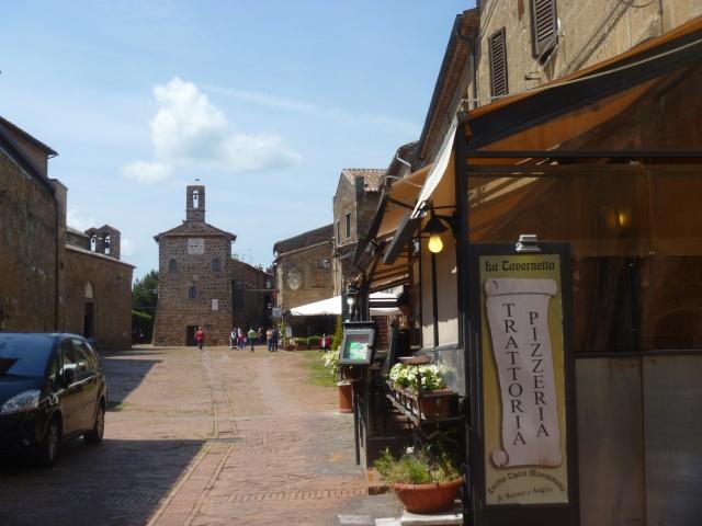 Main piazza Sovana