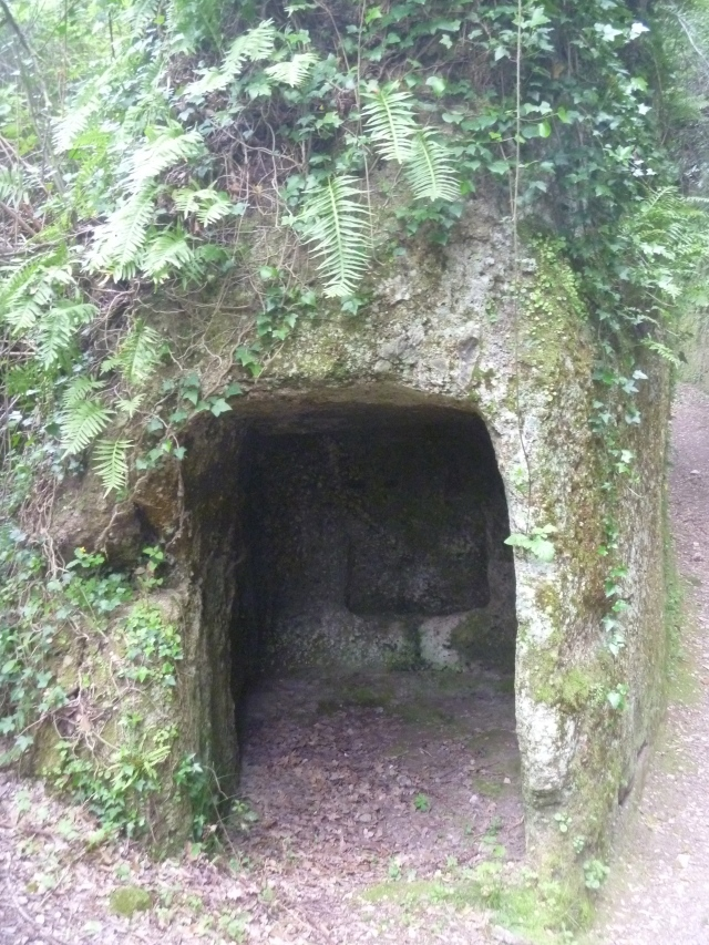 Typical Etruscan Tomb