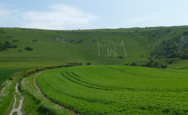 Approaching the Long Man
