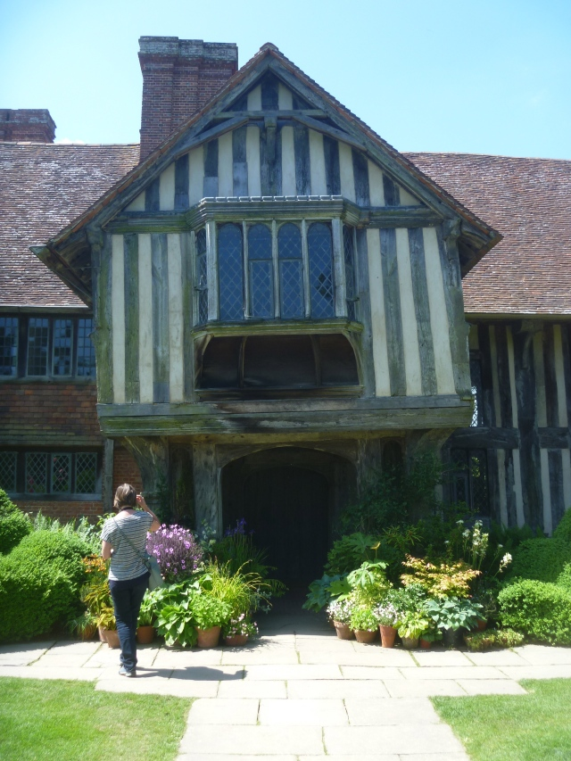 Arriving at Great Dixter