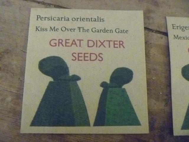 GD Seeds Packet
