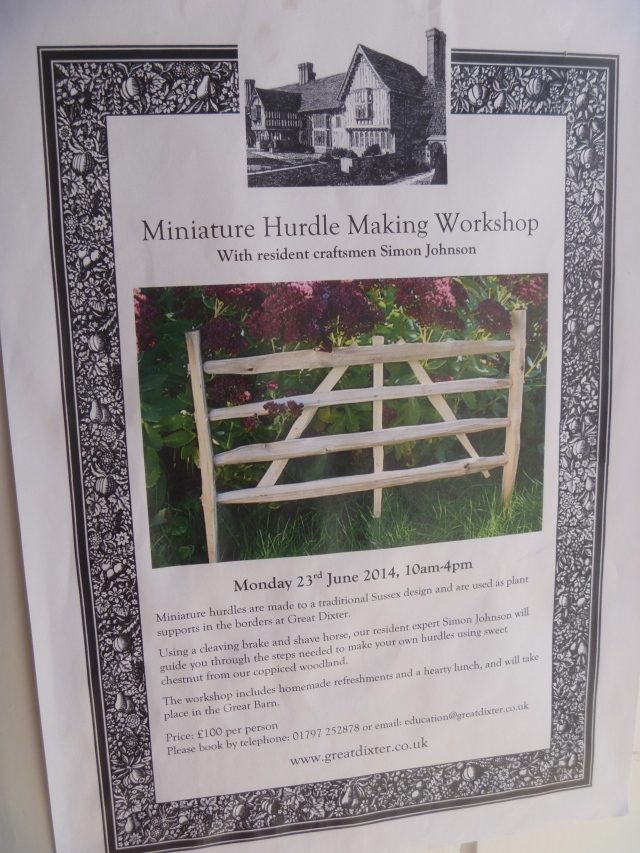 Hurdle workshops