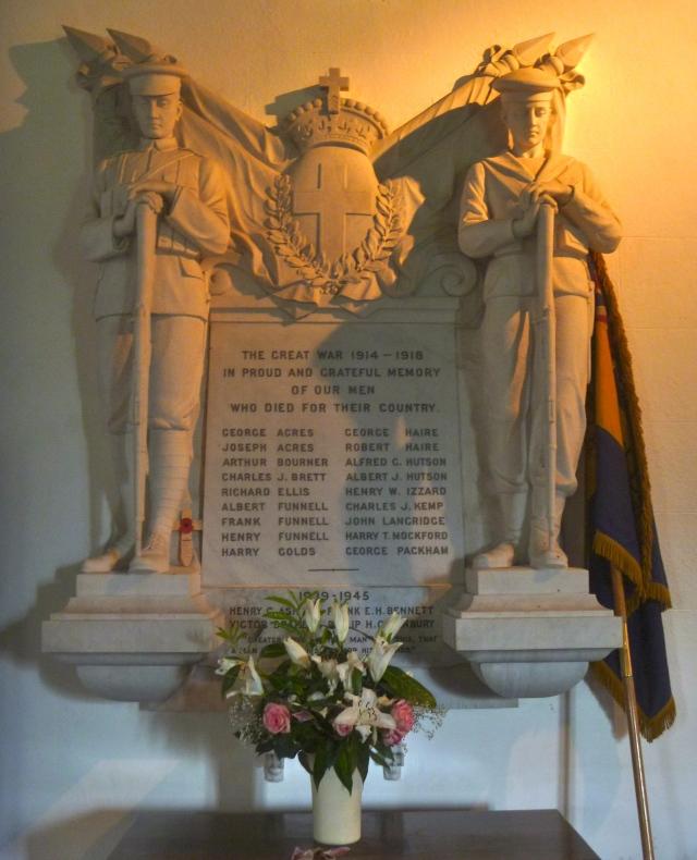 War Memorial Laughton Church
