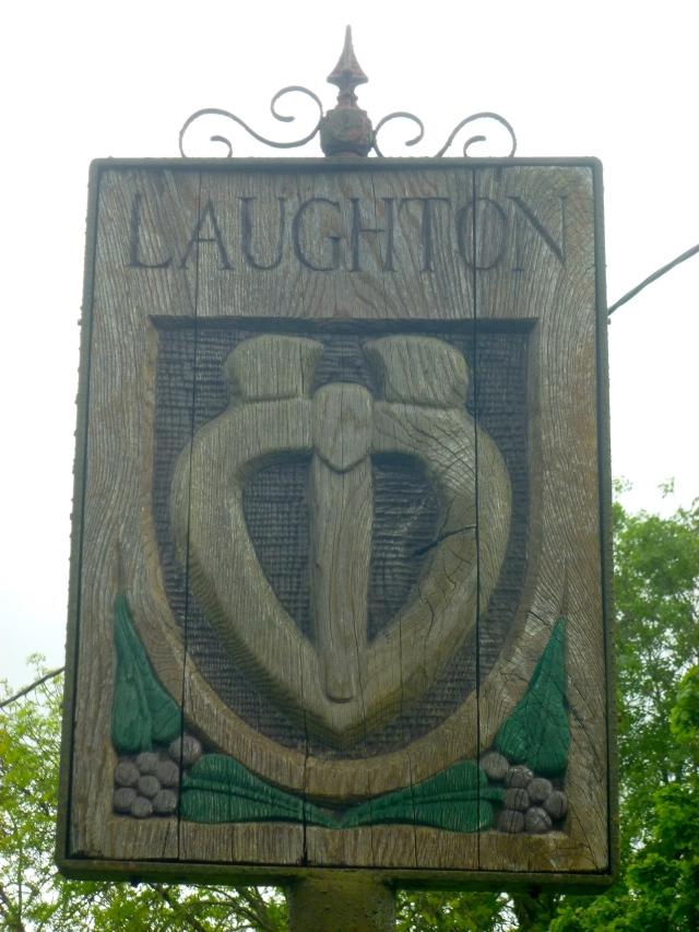 Laughton Village sign