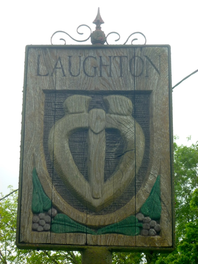 Laughton Village sign