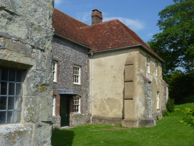 Rear of Wilmington Priory