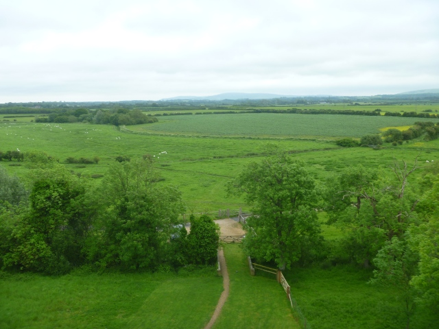 View from the Tower - Laughton Place