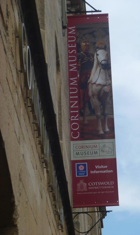 Corinium sign