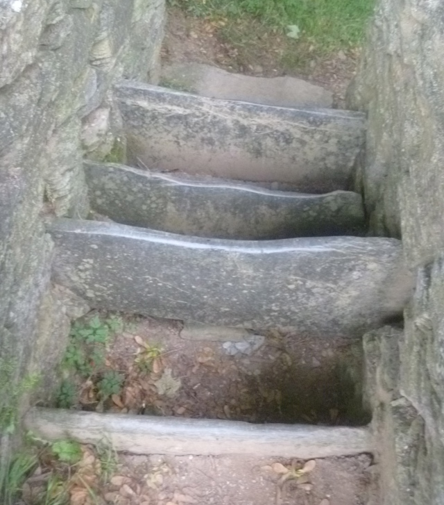 Cornish stone stile