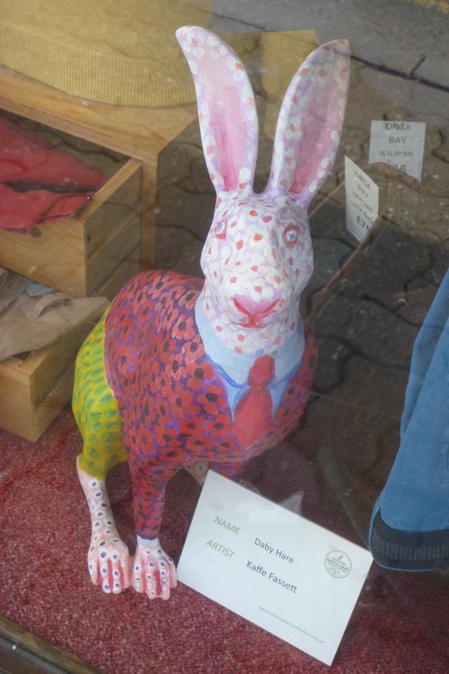 K Fassett hare