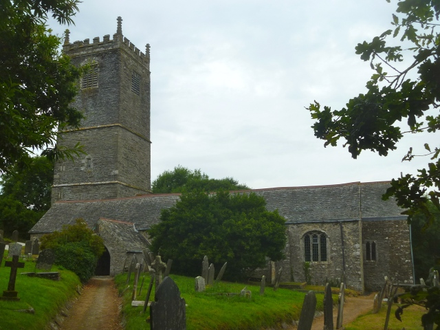 Lanteglos church