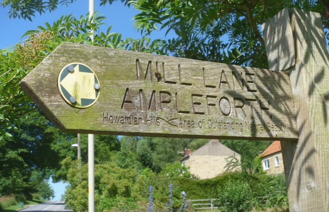 Mill Lane Sign