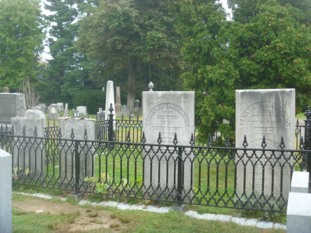 Dickinson family graves