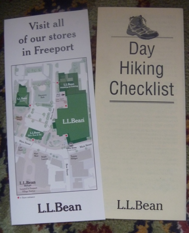 Hiking list