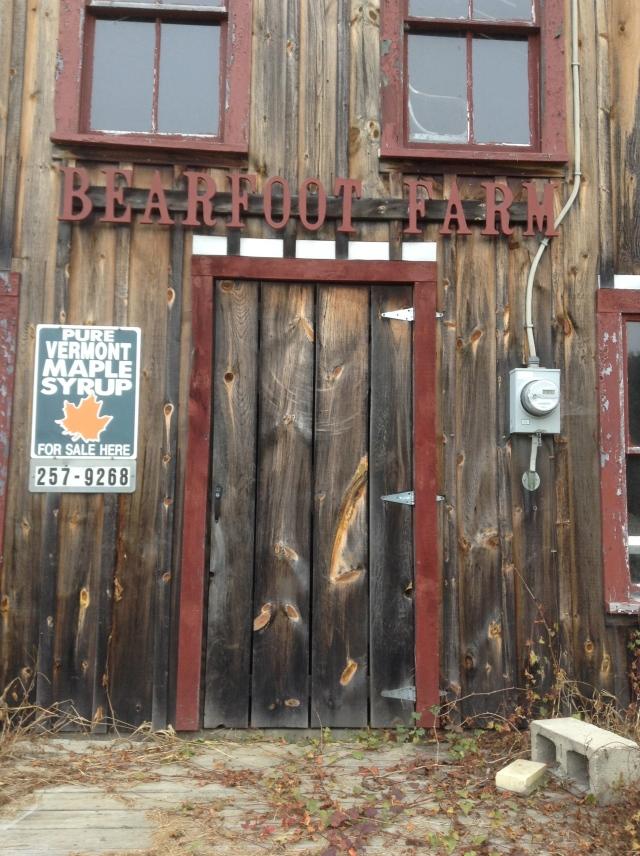 Maple Syrup door