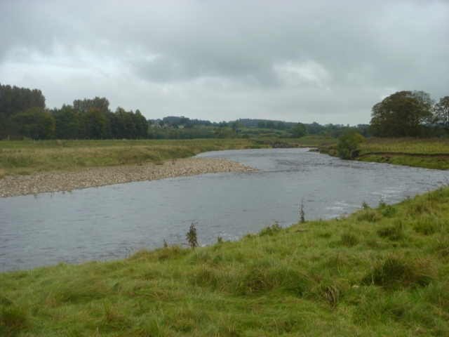River near end of walk
