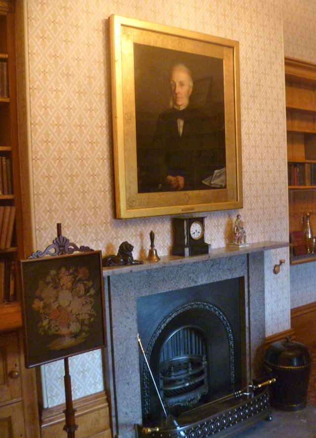 William portrait in study
