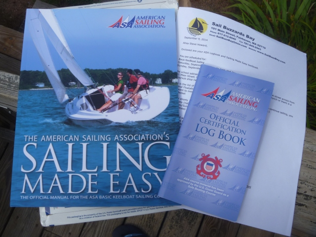 Preparation for sailing