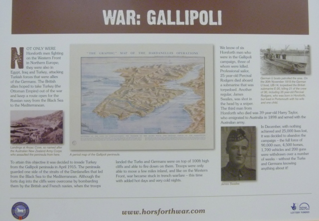 War Gallipoli