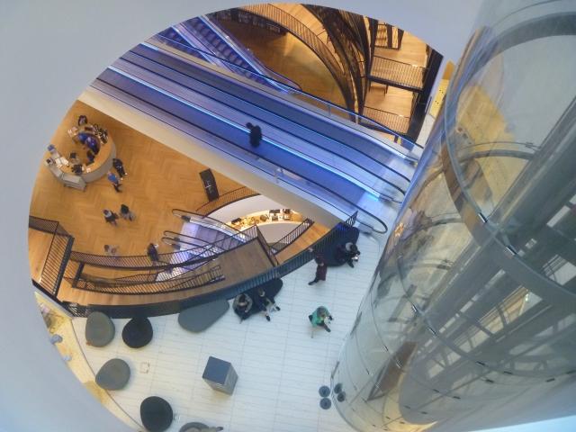 Lift and escalators
