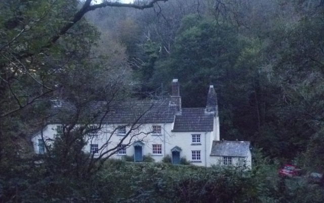 NT cottages, Peppercombe