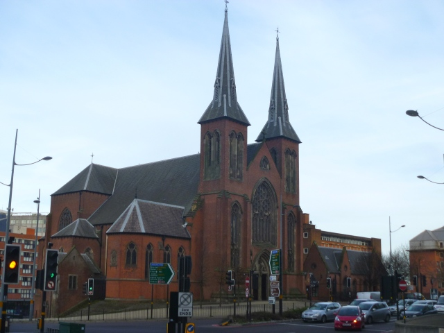 St Chad's and roads
