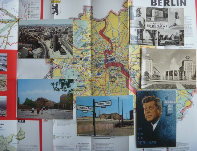 Berlin map and cards