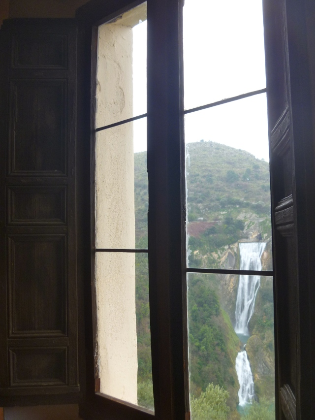 Anio falls and window