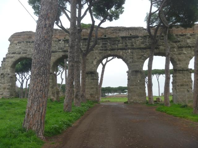 approaching aqueduct