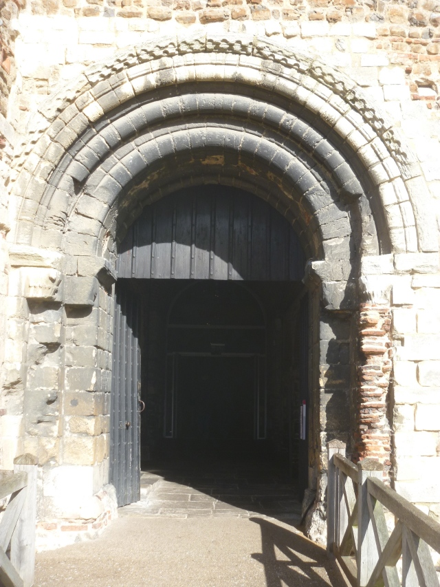 Castle keep door