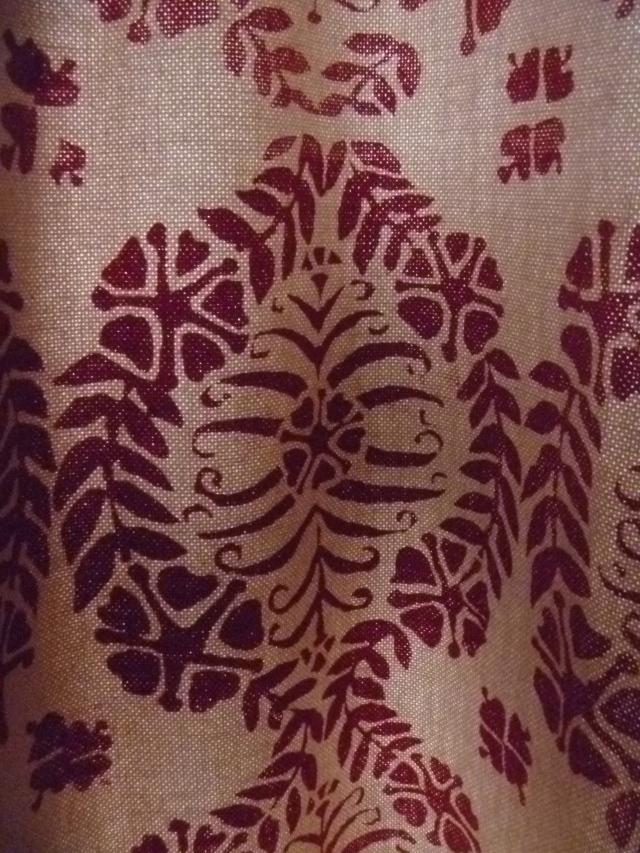 Curtain print
