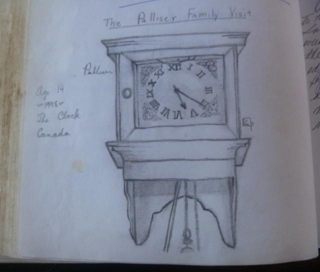 Logbook clock